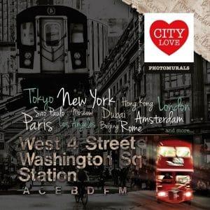City Love - valokuvatapetit